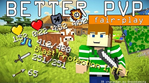 "31008  Better pvp fair play mod [1.9.4] Better PvP ""Fair Play"" Mod Download"