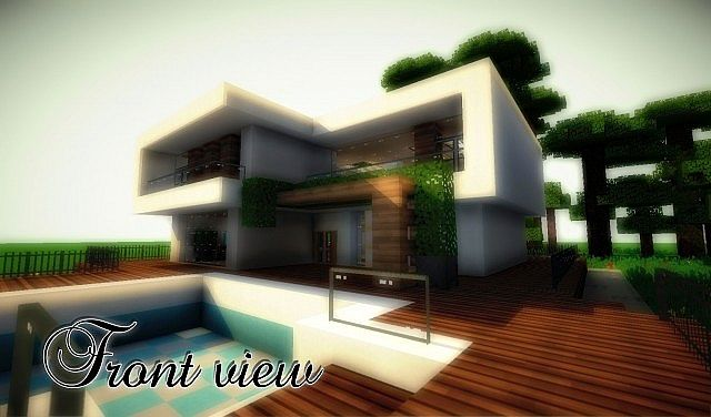 45bf9  yourminecraft 3 4752851 [1.8] Beautiful Modern House Map Download