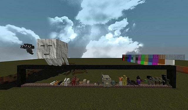 48700  Skyrim pack by srzambie 3 [1.9.4/1.9] [32x] Skyrim (Zombie 101) Texture Pack Download