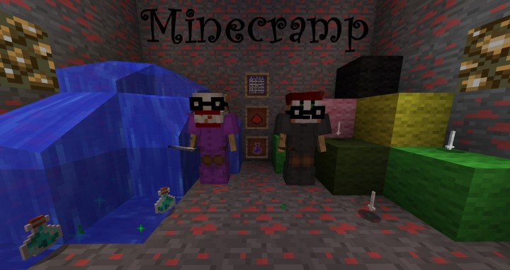 9230f  MineCramp Mod 1 [1.8] MineCramp Mod Download