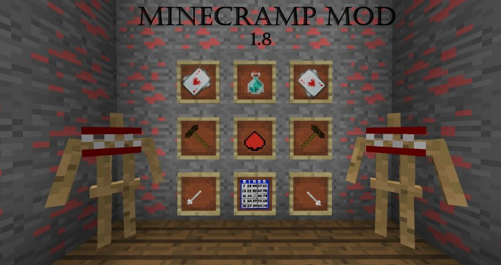 9230f  MineCramp Mod 2 [1.8] MineCramp Mod Download