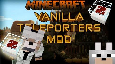 d8c72  Vanilla Inspired Teleporters Mod [1.8] Vanilla Inspired Teleporters Mod Download