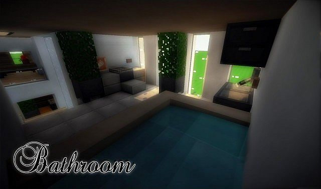 e9319  yourminecraft 10 4752881 [1.8] Beautiful Modern House Map Download