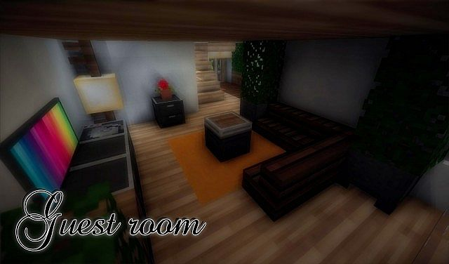 e9319  yourminecraft 12 4752893 [1.8] Beautiful Modern House Map Download