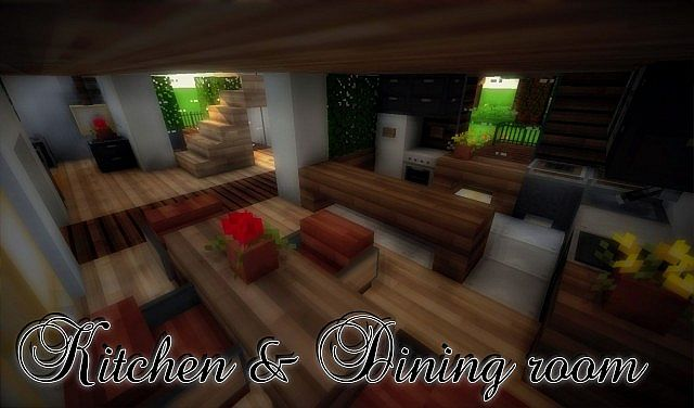 e9319  yourminecraft 13 4752901 [1.8] Beautiful Modern House Map Download