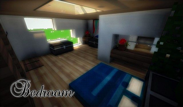 e9319  yourminecraft 9 4752879 [1.8] Beautiful Modern House Map Download
