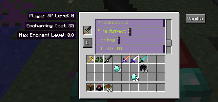 f477c  EnchantSelection [1.10.2] Enchanting Plus Mod Download