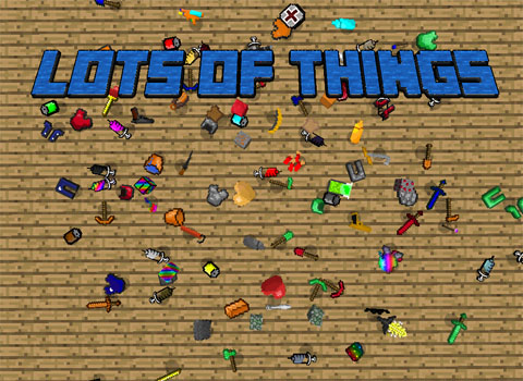7c447  Lots of Things Mod [1.7.10] Lots of Things Mod Download