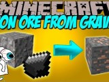 [1.8] Iron Ore from Gravel Mod Download