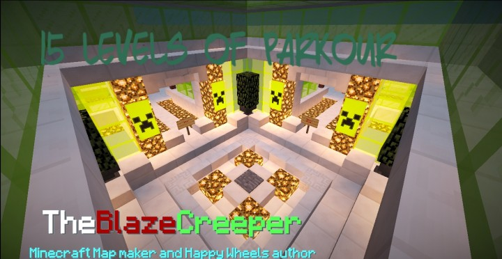 ab35b  15 Levels of Parkour Map 2 [1.8] 15 Levels of Parkour Map Download