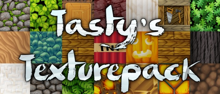 b8615  Tastys resource pack [1.9.4/1.8.9] [128x] Tasty's Texture Pack Download