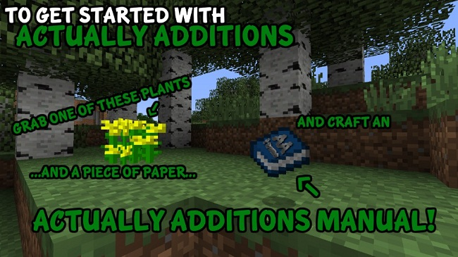 c65ee  Actually Additions Mod 2 [1.8.9] Actually Additions Mod Download
