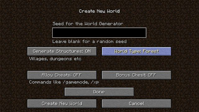 8e31d  Biome World Types Mod 1 [1.8] Biome World Types Mod Download