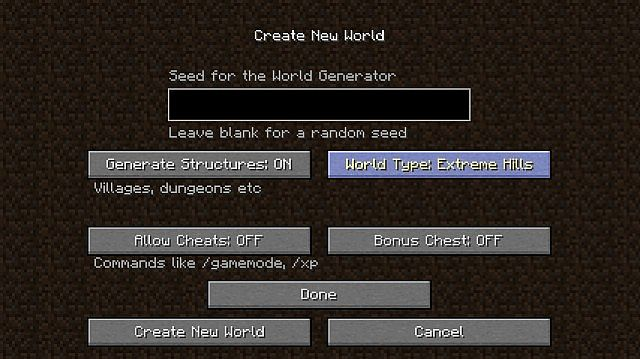 8e31d  Biome World Types Mod 3 [1.9] Biome World Types Mod Download