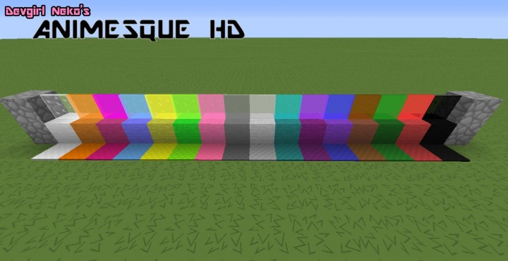 cb312  Animesque hd resource pack 5 [1.9.4/1.8.9] [64x] Animesque HD Texture Pack Download