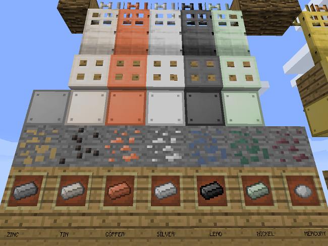dc99f  Base Metals Mod 1 [1.8.9] Base Metals Mod Download