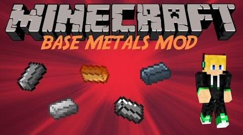 dc99f  Base Metals Mod [1.8.9] Base Metals Mod Download