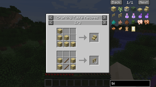 37803  Just Enough Items Mod 1 [1.10] Just Enough Items (JEI) Mod Download