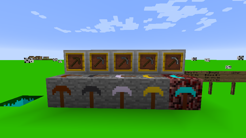 635638317565540376 [1.7.10] Pickaxe Ores Mod Download