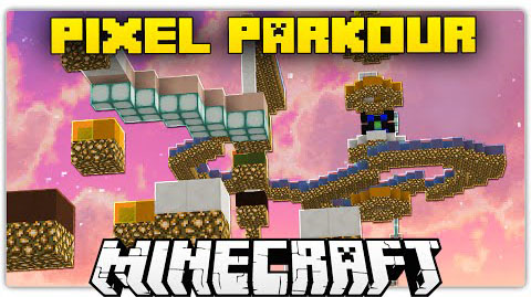 93dc1  Pixel Parkour Map [1.8/1.8.9] Pixel Parkour Map Download