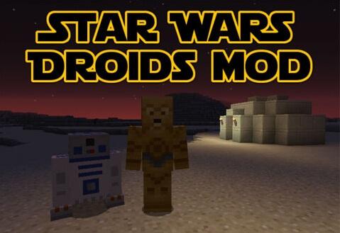 a0767  Star Wars Droids Mod [1.8] Star Wars Droids Mod Download