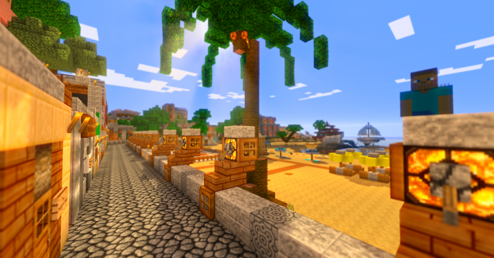 1b879  Mixcraft hd resource pack 5 [1.9.4/1.9] [32x] Mixcraft HD Texture Pack Download