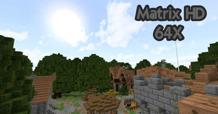 47188  Matrixhd resource pack [1.9.4/1.8.9] [64x] MatrixHD Texture Pack Download