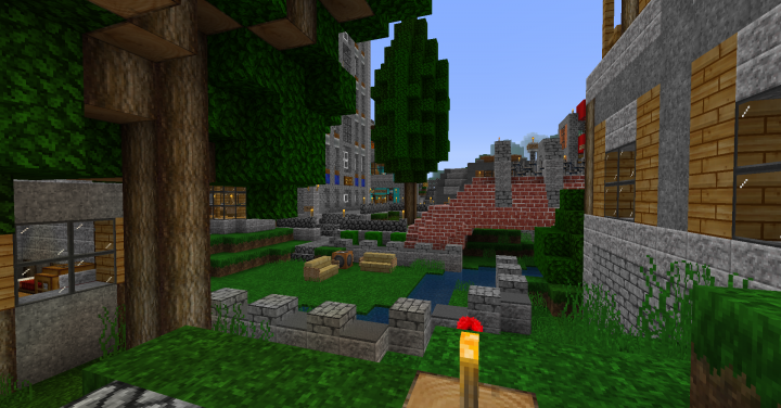 ec79c  Mixcraft hd resource pack 6 [1.10] [32x] Mixcraft HD Texture Pack Download