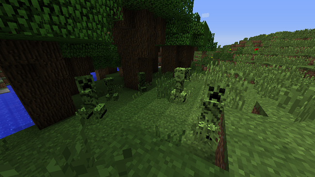 0ca24  Chameleon Creepers Mod 1 [1.7.10] Chameleon Creepers Mod Download