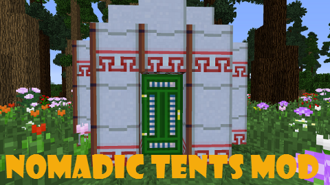 0d32b  Nomadic Tents Mod [1.7.10] Nomadic Tents Mod Download
