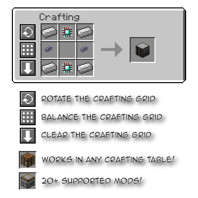 12fe0  Crafting Tweaks Mod 1 [1.10.2] Crafting Tweaks Mod Download