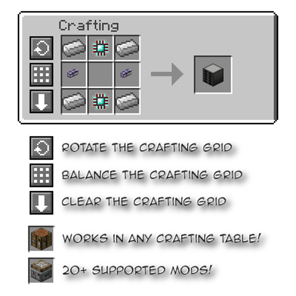 12fe0  Crafting Tweaks Mod 2 [1.10.2] Crafting Tweaks Mod Download