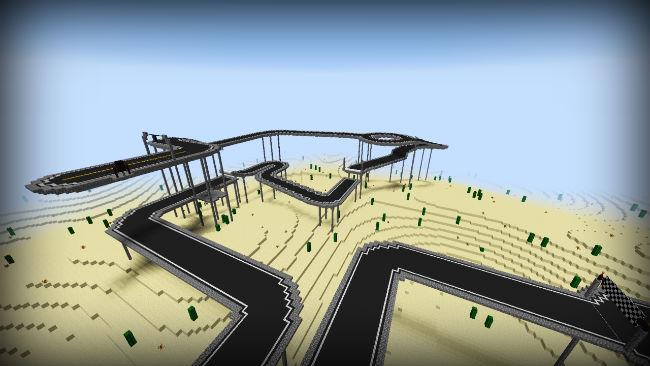 1de07  Minecar Racing Map 2 [1.9] Minecar Racing Map Download