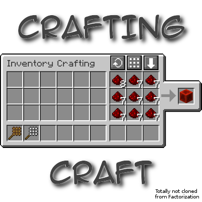 4d89e  CraftingCraft Mod [1.7.10] CraftingCraft Mod Download
