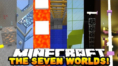 66cd6  The 7 Worlds Parkour Map [1.9] The 7 Worlds Parkour Map Download