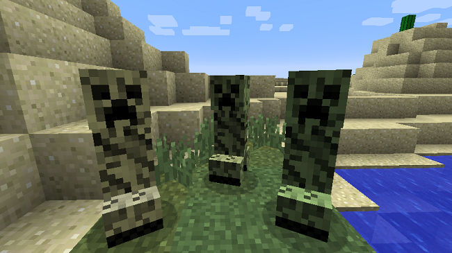 74888  Chameleon Creepers Mod 3 [1.7.10] Chameleon Creepers Mod Download