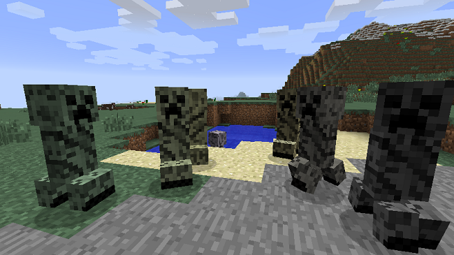 74888  Chameleon Creepers Mod 4 [1.9] Chameleon Creepers Mod Download