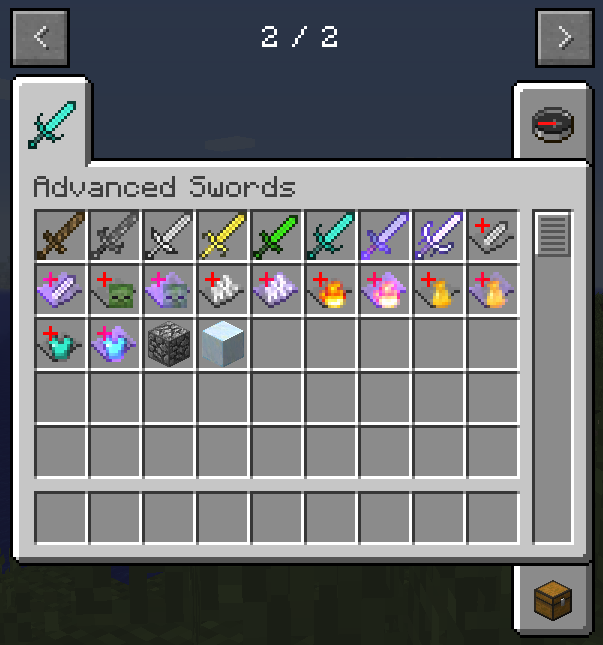 80215  Advanced Swords Mod 1 [1.8.9] Advanced Swords Mod Download