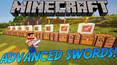 80215  Advanced Swords Mod [1.8.9] Advanced Swords Mod Download