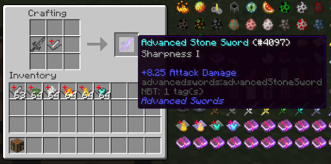 ee41b  Advanced Swords Mod 6 [1.8.9] Advanced Swords Mod Download