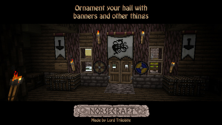 0f2be  Lordtrilobites norsecraft resource pack 3 [1.9.4/1.9] [16x] Lord Trilobite's NorseCraft Texture Pack Download