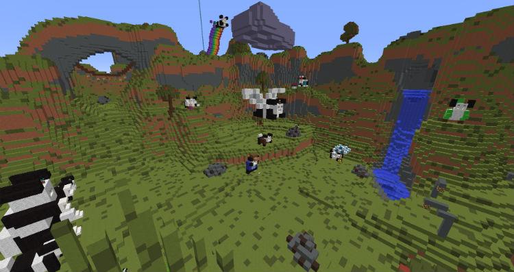 1f801  Sad Panda Adventures Map 1 [1.9] Sad Panda Adventures Map Download