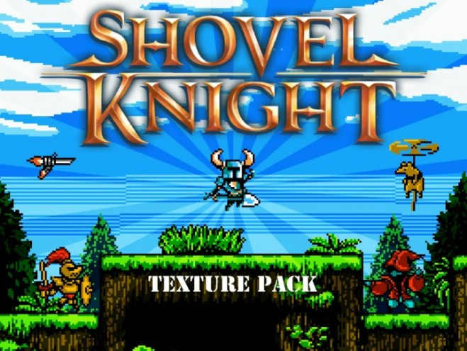 3cf02  Shovel knight resource pack [1.9.4/1.8.9] [16x] Shovel Knight Texture Pack Download