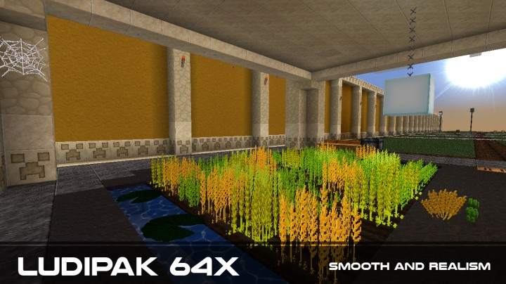 60ca5  Ludipak smooth realism resource pack [1.9.4/1.9] [64x] LUDIPAK Smooth Realism Texture Pack Download