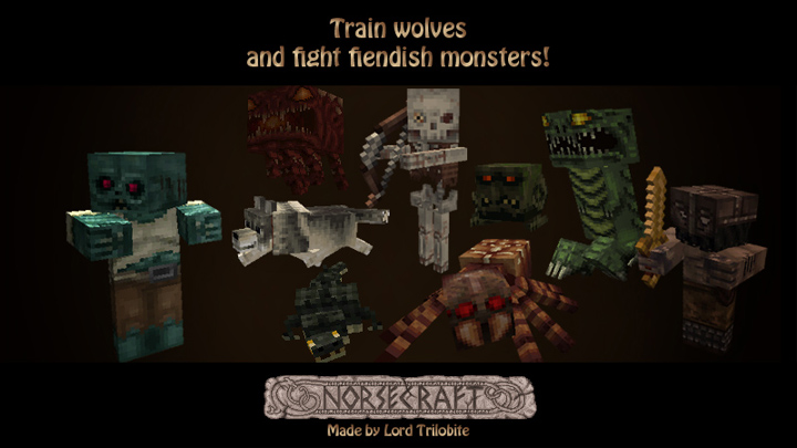 75c4b  Lordtrilobites norsecraft resource pack 5 [1.9.4/1.9] [16x] Lord Trilobite's NorseCraft Texture Pack Download