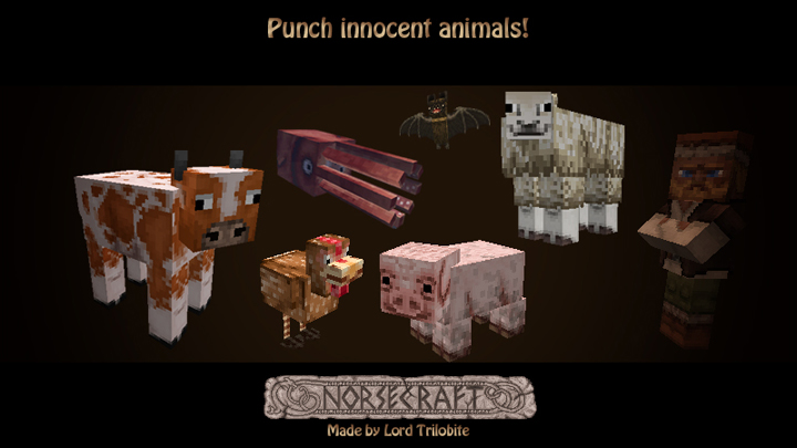 75c4b  Lordtrilobites norsecraft resource pack 6 [1.9.4/1.9] [16x] Lord Trilobite's NorseCraft Texture Pack Download