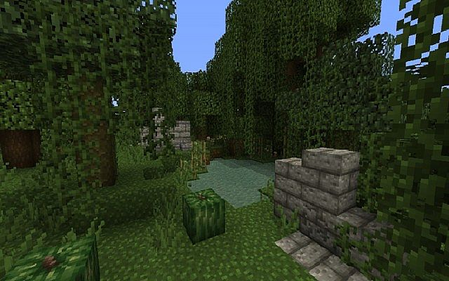 78d19  Jungle ruins resource pack 3 [1.9.4/1.9] [16x] Jungle Ruins Texture Pack Download
