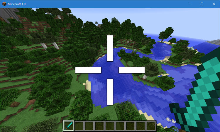 793a7  Custom Crosshair Mod 10 [1.9.4] Custom Crosshair Mod Download