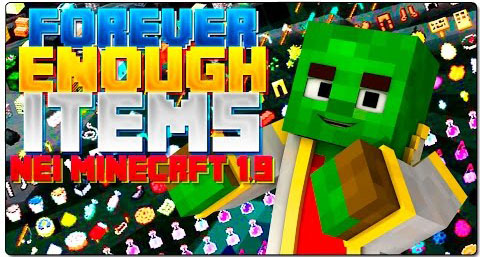 a5305  Forever Enough Items Mod [1.9] Forever Enough Items Mod Download
