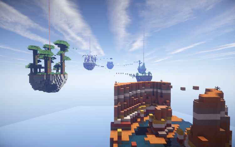 b8fb7  Parkour paradise sky islands map 1 [1.9] Parkour Paradise: Sky Islands Map Download